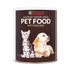 Gourmet Freeze Dried Pet Food