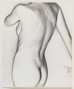 NU DE DOS, 1944, by Man Ray