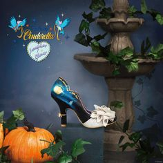 'Bibbidi Bobbidi Boo' Cinderella had her moment gliding around the dance floor. Now you can twirl with her creating your own magic. Not long until you can enjoy your very own Happily Ever After. Limited Edition Irregular Choice/Disney Collection gliding into stores soon on the stroke of 12… www.irregularchoice.com #Disney #Cinderella #irregularChoice