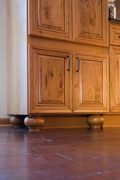 dura supreme's st. augustine door style shown in rustic cherry