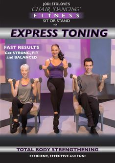 Chair Gym Workout Videos Aeron Singapore 64 Best Dancing Fitness Video Clips Images Exercises International Inc Coming Soon Sit Or Stand For Express Toning