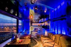 Randlords is an exclusive party and function venue perched on the 22nd floor of South Point Towers in Johannesburg's Braamfontein suburb.