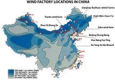 China Is Making Optimal Use Of The Wind. #WindEnergy #WindPower #RenewableEnergy #SustainableEnergy #NuclearPower #China #America