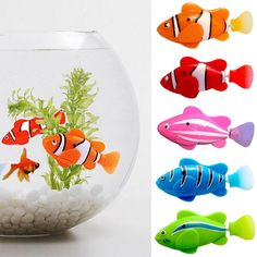 5 Pcs / Set Electronic Fish Swim Toy Battery Included Robotic Pet For Kids Bath Toy Fishing Tank Decorating Act Like Real Fish on Pet Supplies 8760 Robo Fish, Fish Cat Toy, Kids Bath Toys, Kids Toys, Cool Cat Toys, Kids Electronics, Fish Swimming, Water Toys, Electronic Toys