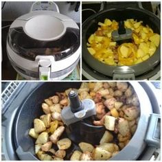 actifry | miamslespassions Fries, Cooking, Ainsi, Actifry Family, Robots, Diners, Carrot Fries, Turkey Stir Fry, Bell Pepper