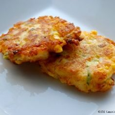 Corn and Cheddar Potato Fritters by CarriesExpKtchn