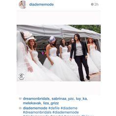 DreamON Shades of Love koleksiyonu modelleri Brüksel Belçika'da Diademe Mode defilesiyle göz kamaştırdı.  #dreamon #gelinlik #defile #brüksel www.dreamon.com.tr