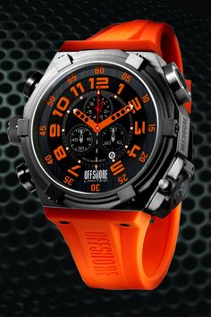 Offshore Limited Force 4 Orange Watch