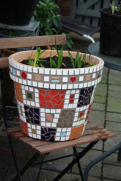 Mosaic Pot #4 | Flickr - Photo Sharing!