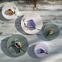 Mosaic fine art, decors and patterns for walls. by OraMosaiques Mosaic Animals, Mosaic Birds, Mosaic Wall Art, Mosaic Diy, Mosaic Garden, Mosaic Crafts, Mosaic Projects, Mosaic Artwork, Mosaic Ideas