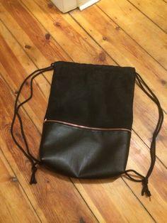 DIY Backpack Turnbeutel  #hipster #leather ❤️❤️