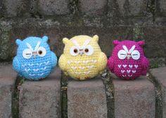 owl amigurumi, adorable!