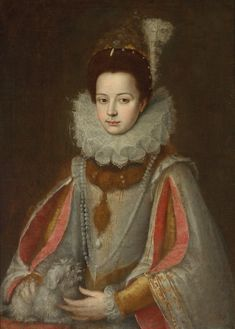 attributed to Sofonisba Anguissola (Italian painter) ca - 1625 Portrait of Isabella of Savoy, s. A4 Poster, Poster Prints, Women Artist, Local Painters, Female Painters, Renaissance Artists, Spanish Fashion, Vintage Artwork, Portraits
