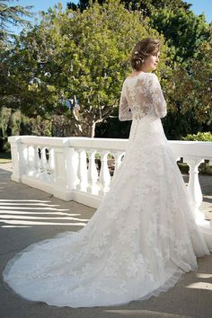 Wedding Dress VE8263 - Marilyn's Bridal