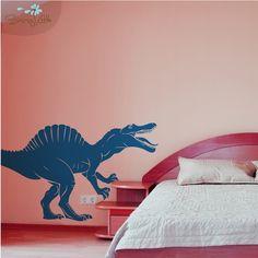 Spinosaurus  Dinosaur Vinyl Wall Decal by SissyLittle on Etsy, $79.99