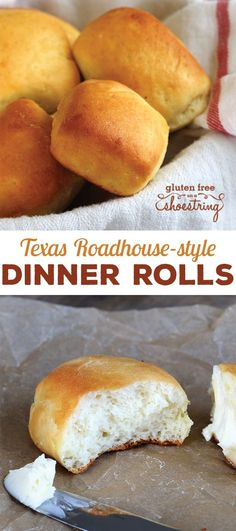 These gluten free Texas Roadhouse-style rolls are as tender, light and fluffy as you remember. But they're safely gluten free!