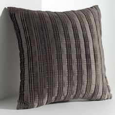 Simply Vera Vera Wang Links Smocked Square Decorative Pillow