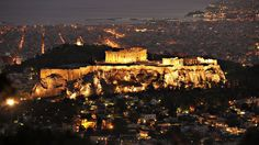 The Acropolis of Athens is an ancient citadel located on a high rocky outcrop above the city of Athens and contains the remains of several ancient buildings of great architectural and historic significance, the most famous being the Parthenon.