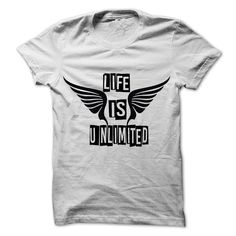Unlimited T-Shirts, Hoodies. CHECK PRICE ==► https://www.sunfrog.com/LifeStyle/Unlimited-98089260-Guys.html?id=41382