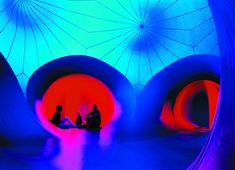 Architects of Air's Luminaria: Inflatable Chromatic Catacombs - Core77