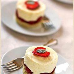 Meyer Lemon Mousse Cake And Berries from La Tartine Gourmande, found @Edamam!