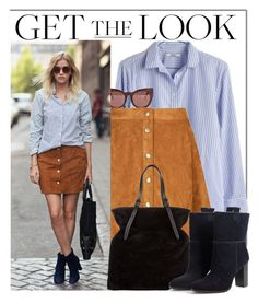 """""""NYFW Look"""" by monmondefou ❤ liked on Polyvore featuring Madewell, Quay, Tomas Maier, MANGO, NYFW and NYFW2015"""