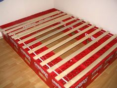 Beer box bed (with german instruction)