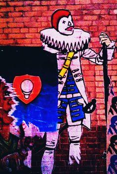 #StreetArt #UrbanArt - Clown Soldier