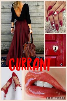 Currant LipSense  To order visit  FB oohlalipsbylinda