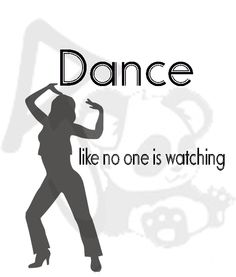 """There are shortcuts to happiness,  and dancing is one of them.""  haifil.com"
