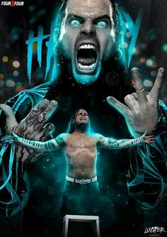 FEAR is only a 4 letter word Wrestling Posters, Wrestling Wwe, Wwe All Superstars, Hardy Brothers, Wwe Jeff Hardy, Wwe Brock, The Hardy Boyz, Wwe Pictures, Wwe Wallpapers