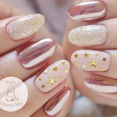 20 Star Nails Art Ideas For Your Brilliant Look #nailart #NaturalNails