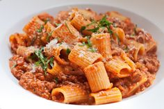 One of Teatro's Signature Dishes--Bolognese