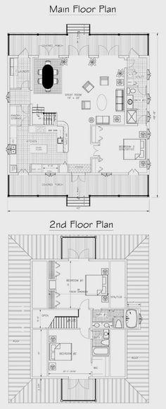 Caribbean Cottage Plan