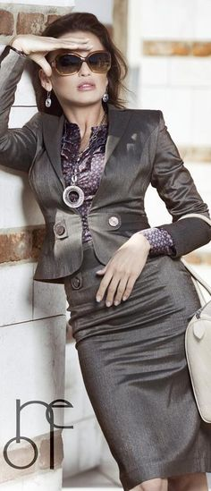 If you like this look . . . try CAbi's #230 Bossy Blazer & #430 Bossy skirt . . . if the Boss wants to have some fun!
