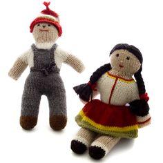 Alpaca Dolls from Peru