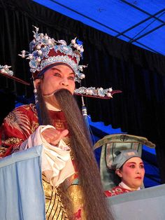 Sichuan Opera in action. Chengdu, China.