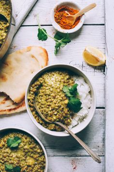 Creamy lentil dal prepared in 1 pot! Easy, quick, healthy, and incredibly flavorful. Serve with rice of choice for a hearty, wholesome, plant-based meal.