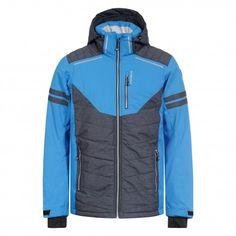 #Icepeak Neville blauwe #winterjas voor mannen