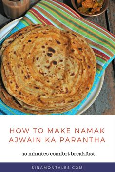 Namak aur Ajwain Ka Parantha is one of the top con…