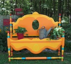 Yes, Yes, Yes,I love this bench.  Love all the color!!  I want to make one for my backyard!