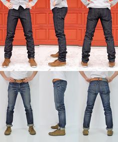 Selvage Denim Before and After