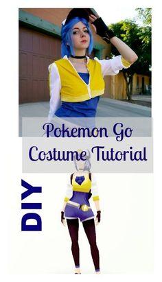 DIY pokemon go costume