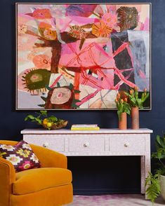 At F&F we're all about the unusual curation of pieces sourced near and far ~ local Australian artists hanging above hand carved bone inlay… Family Photo Collages, Stylish Home Decor, Bone Carving, Australian Artists, Affordable Art, Cool Artwork, Awesome Paintings, My Living Room, Decoration