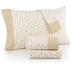 Martha Stewart Collection Printed Cotton Flannel Full Sheet Set, ($40) ❤ liked on Polyvore featuring home, bed & bath, bedding, bed sheets, winter blossom, martha stewart bedding, winter bedding, king bedding, flower bedding and king size sheet sets