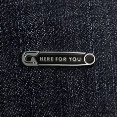 Here For You - Enamel Pin