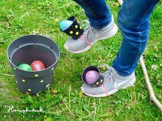 Upcycling ideas for children's birthday parties, part 2 - honey kukuk - DIY Kindergeburtstag Spiele - Pinnwand Kids Crafts, Toddler Crafts, Diy And Crafts, Kids Diy, Decor Crafts, Birthday Games, Birthday Parties, Birthday Hair, Birthday Ideas