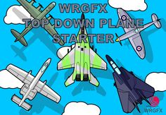 Top Down Plane Starter Pack has just been added to GameDev Market! Check it out: http://ift.tt/1ogEnvi #gamedev #indiedev