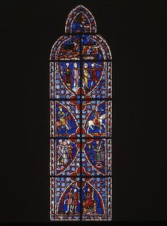 #MetKids Fun Fact: This window didn't used to look like this. The scenes are pieced together from two different windows from the same chapel (a small space in a church). | Scenes from the Legend of Saint Vincent of Saragossa, ca. 1245–47. France. The Metropolitan Museum of Art, New York. Gift of George D. Pratt, 1924 (24.167a-k)