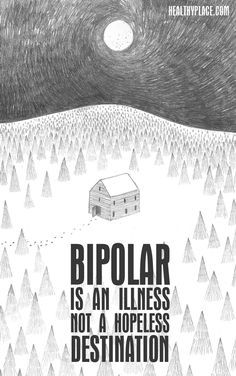 These bipolar quotes focus on mania, depression and other bipolar disorder related issues. Want some idea of what it's like living with bipolar disorder? Bipolar Disorder Types, Anxiety Disorder, Personality Disorder, Mental Illness Quotes, Mental Health Quotes, Bipolar Quotes, Psychology Disorders, Feeling Depressed, Empowering Quotes